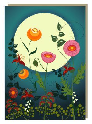Lunar Floral Garden
