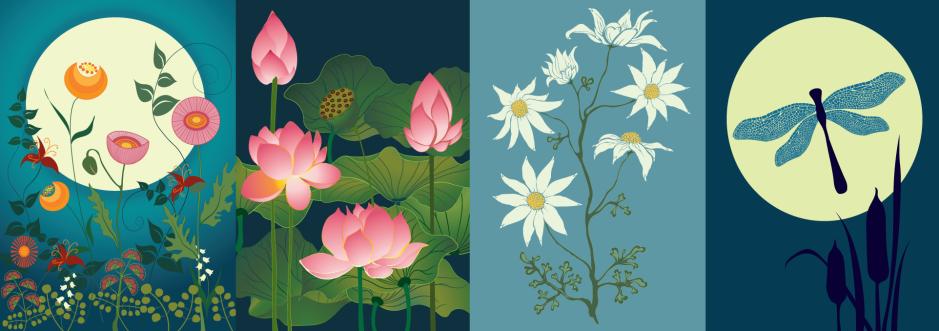 Gardenalia greeting cards